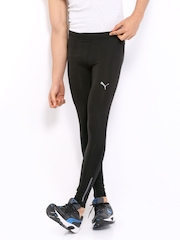 Puma Men Black Running Tights