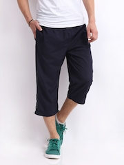 Puma Men Navy 3/4 Length Pants