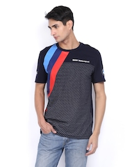 Puma Men Navy BMW Graphic Printed T-shirt