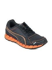 Puma Men Navy Blue Kevler Runner Shoes