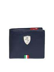 Puma Men Navy Ferrari LS Wallet
