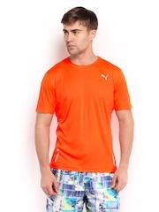 Puma Men Neon Orange Pure Tech T-shirt