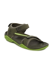 Puma Men Olive Green K9000 XC Ind Sports Sandals