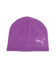 Puma Men Purple Karen Beanie Skull Cap