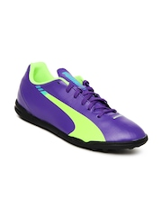 Puma Men Purple evoSpeed 5.3 TT Sports Shoes