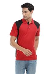 Puma Men Red Dezire Polo T-Shirt