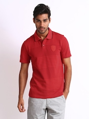 Puma Men Red Ferrari Polo T-shirt