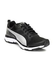 PUMA Men Black Mobium Ride Running Shoes