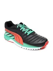 Puma Men Black Faas 300 v3 Running Shoes