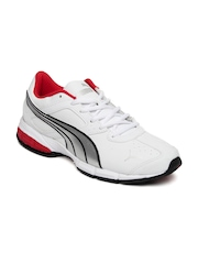 Puma Men White Tazon 5 Ind Sports Shoes