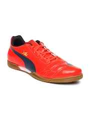 Puma Men Neon Orange evoPower 4 IT Training Shoes