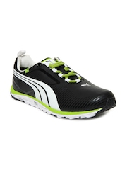 Puma Men Black Faas Lite Sports Shoes