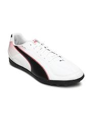 Puma Men White Esquadra TT Football Shoes