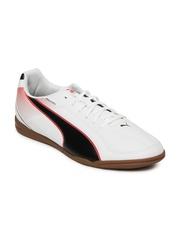 Puma Men White Esquadra IT Football Shoes