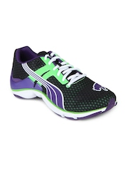 Puma Men Purple & Green Mobium Elite NM Sports Shoes