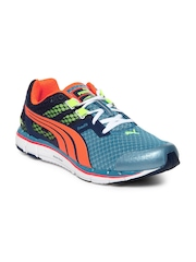 Puma Men Blue Faas 500 V3 Sports Shoes