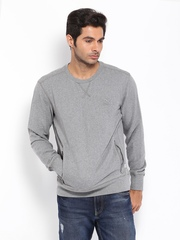 Puma Men Grey Sweatshirt