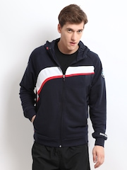 Puma Men Navy BMW Motorsport Hooded Sweatshirt