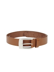 Puma Men Tan Brown Leather Belt