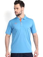 Puma Men Blue Cricket Training Polo T-shirt