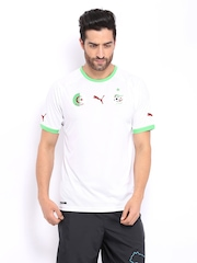 Puma Men White Algeria Replica Jersey