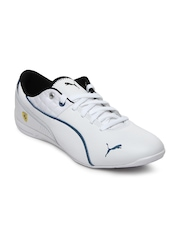 Puma Men White Drift Cat 6 Ferrari Casual Shoes
