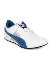 Puma Men White Esito II Casual Shoes