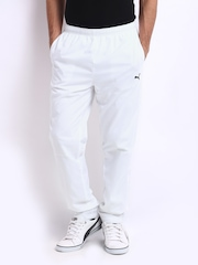 Puma Men White Track Pants