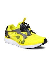 Puma Men Yellow Ftr Disc Lite Tech Sneakers