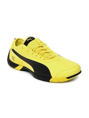 Puma Men Yellow Future Cat SL SF NM Sports Shoes