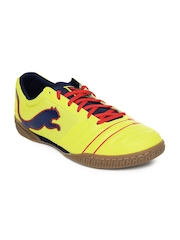 Puma Men Yellow PowerCat 4.12 Sala Casual Shoes