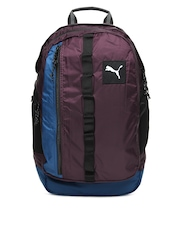 Puma Unisex Purple PY Fresh Laptop Backpack