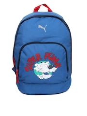 Puma Kids Blue Primary Backpack
