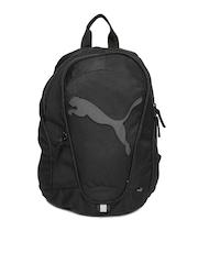 Puma Kids Black Backpack