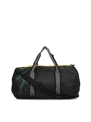 Puma Unisex Black Bolt Performance Packaway Duffle Bag