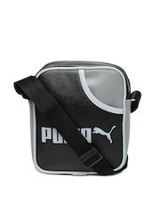 Puma Black Campus Portable Sling Bag