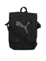 Puma Black Big Cat Portable Sling Bag