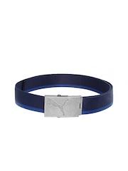 Puma Unisex Blue Core Webbing Belt