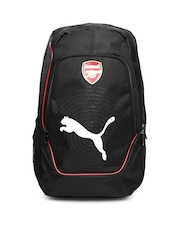 Puma Unisex Black Arsenal Football Backpack