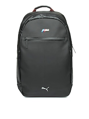 Puma Unisex Black BMW M Collection Backpack