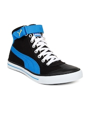 Puma Unisex Black Casual Shoes