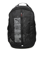 Puma Unisex Black Deck Backpack