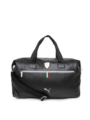 Puma Unisex Black Duffle Bag