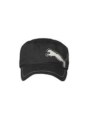 Puma Unisex Black Fairview Military Cap
