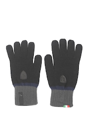 Puma Unisex Black Ferrari LS Knit Gloves