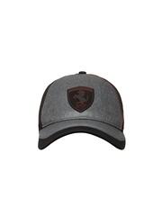 Puma Unisex Black Ferrari Stretch Fit Cap