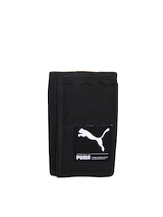 Puma Unisex Black Foundation Wallet