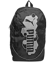 Puma Unisex Black Pioneer Backpack