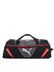 Puma Unisex Black Platinum Edition Wheel Bag