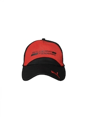 Puma Unisex Black & Red SF Cap